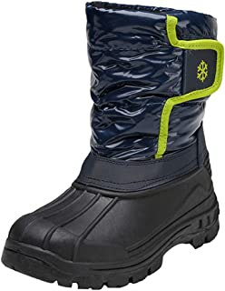 Kids Comfortable Snow Boots Waterproof Insulated Non-Slip Durable Girls Boys Warm Winter Shoes