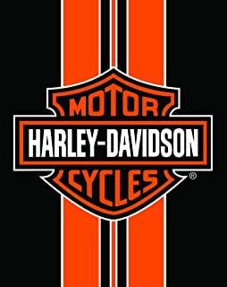 Harley Davidson Towel Jumbo Deluxe The Legend Continues Hd104