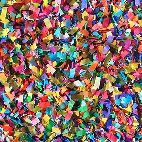 Vibrant Confetti Mix Biodegradable Colourful Multi Coloured Party Decorations Wedding Throwing product image