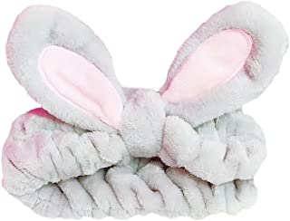 BAOBAO Cute Cartoon Rabbit Ear Headband Wired Bowknot Hair Band Head Wraps