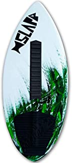 """Slapfish Skimboards - Fiberglass & Carbon - Riders up to 200 lbs - 48"""" with Traction Deck Grip - Kids & Adults - 4 Colors"""