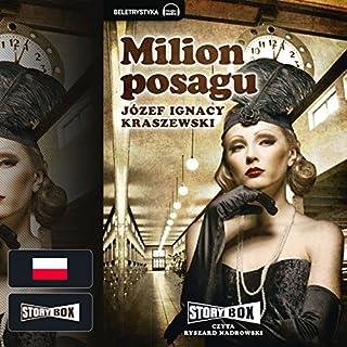 Milion posagu cover art