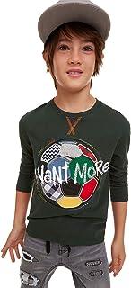 T-Shirt Fermin Camiseta de Manga Larga para Niños