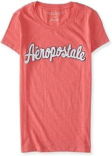 Aeropostale Womens Script Embellished T-Shirt