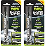 2 X Car-Pride - Paint Scratch Remover Pen - For Use On Any