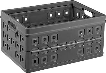Sunware 57300636 Square - Caja de almacenaje (Plegable, 46 L): Amazon.es: Hogar