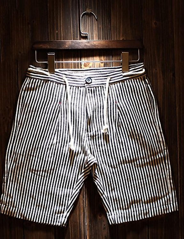 Men Pants Herren Einfach Einfach Einfach Mittlere Hüfthöhe Mikro-elastisch Kurze Hosen Lose Hose B073Y7FYR7  Charakteristisch cc455c