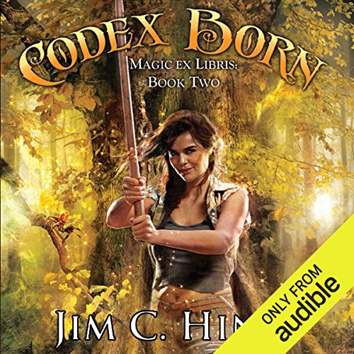 Codex Born audiobook cover art