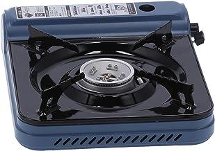 Estufa de butano portátil Utensilios de cocina Quemadores de gas de acero inoxidable para mochileros Senderismo al aire libre Estufa de camping Dispositivo de corte de sobrepresión