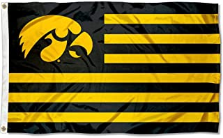 College Flags & Banners Co. Iowa Hawkeyes Stars and Stripes Nation Flag