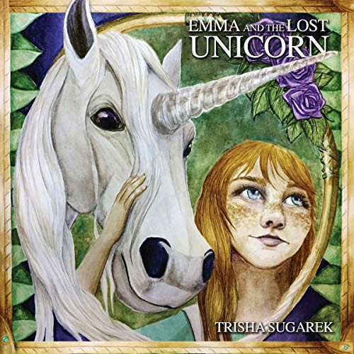 Emma and the Lost Unicorn audiobook cover art