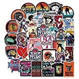 Hockey Stickers for Kids, Adults (100 pcs) Waterproof Hockey Sports Stickers - Vinyl Sticker Set for Laptop, Scrapbook - Re-Stickable Stickers for Helmet, Luggage, Water Bottle (GlibertVillageGoods)