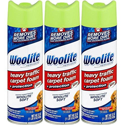 Woolite Heavy Traffic Carpet Foam + Protection Cleaner, 22 fl oz
