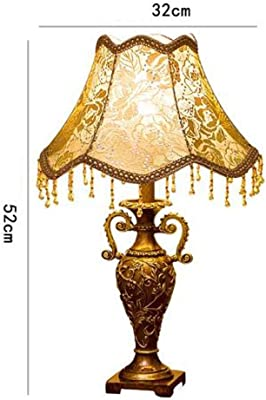 XXYHYQHJD Table Lamps Lamp Fabric Lamp Bedroom Marriage