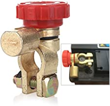 Interruptor de aislador de batería de 12 V 24 V, interruptor de desconexión de la batería del coche, interruptor de conexión de terminal, interruptor de apagado rápido, piezas de coche eléctrico