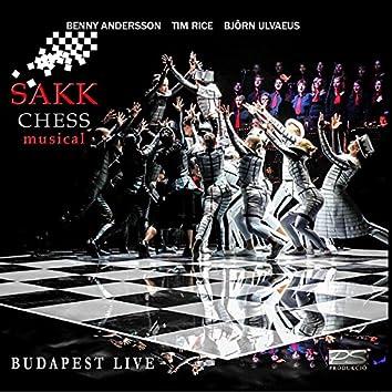 Sakk (Chess) Musical - Budapest LIVE 2015