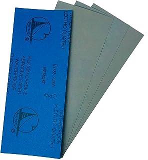 【使いやすくカット済み】 紙やすり 耐水ペーパー 3000番×4枚入り 紙ヤスリ サンドペーパー 研磨 仕上げ 磨き DIY ホビー、ハンドサンダーにも キッチンやトイレの掃除に