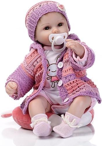 Nicery Reborn   Doll Réaliste Simulation Bébés Poupées 15 Pouces 40 Cm Réaliste Jouet Cadeau D'anniversaire Pour Enfants
