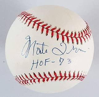 monte irvin signed baseball