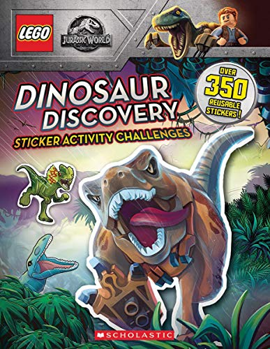 Dinosaur Discovery (LEGO JURASSIC WORLD: STICKER ACTIVITY BOOK)