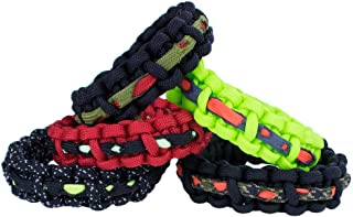Zombie Apocalypse Bracelet Kits – Craft Your Own Survival Gear – 5 Style Options Available – Kit Includes 10-Feet of Paracord, Buckle, and 1-Foot Zombie Cord – Be Prepared When The Apocalypse Comes