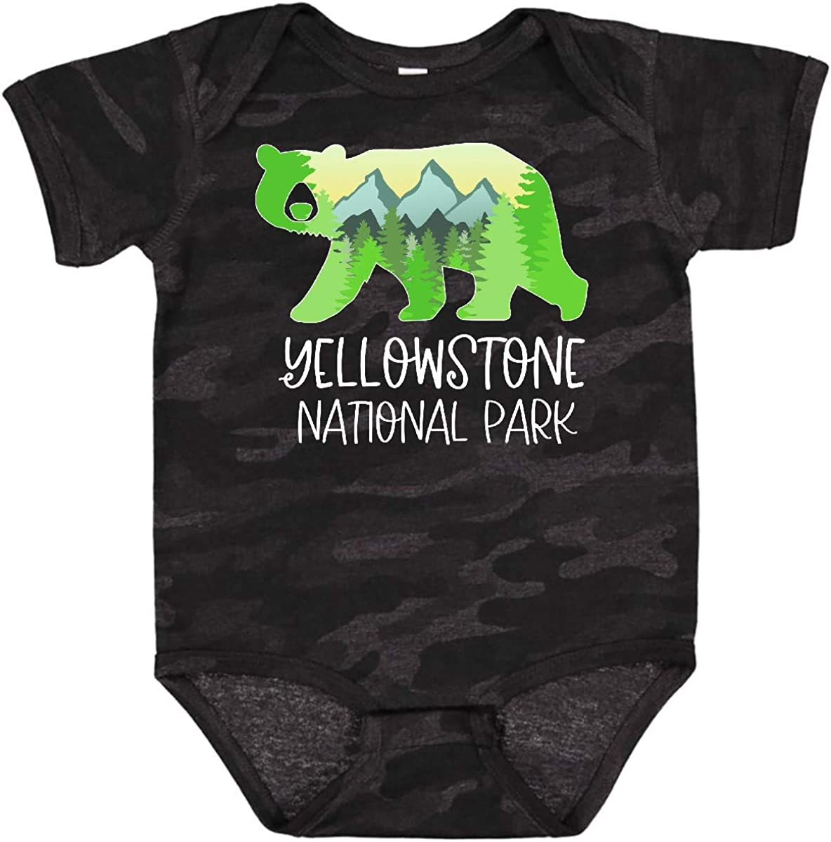 inktastic Yellowstone National Park- Mountains Bear and Fresno Mall In specialty shop Shape
