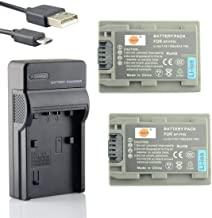 Original VHBW ® dual cargador para Sony handycam dcr-dvd405//dcr-dvd405e