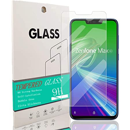 ASUS ZenFone Max (M2) ZB633KL フィルム ASUS ZenFone Max (M2) ZB633KL ガラスフィルム ガラス ケース 保護フィルム [ 厚さ0.26㎜アンチブルーライト 素材採用 気泡ゼロ 飛散防止 高感度 高透過率 衝撃吸収 指紋防止極薄 3D ラウンドエッジ加工 業界最高硬度9H 京セラ 液晶保護フィルム] ガラスフィルム 強化ガラス 液晶保護フィルム 強化ガラスフィルム ガラスカフィルム 保護フィルム