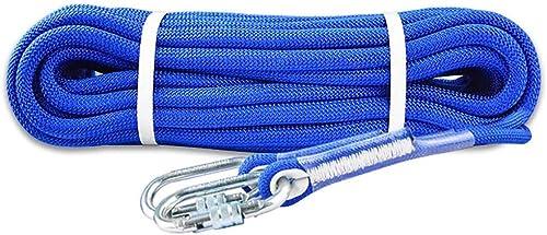 LXYFMS Corde d'assurance de Travail aérien de Corde d'escalade Corde Corde de meulage de meulage extérieur résistant à l'usure 10.5   12MM Longueur 10 20 30 50 80   100m Corde d'alpinisme
