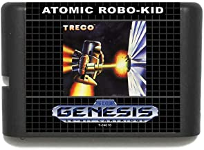TopFor Atomic Robo-Kid 16 Bit Md Game Card For Sega Mega Drive For Genesis