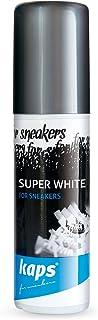 Kaps Sbiancante Super Bianco Ripristina Colore per Scarpe Casual e Sneakers, Pelle e Tela, 75 ml