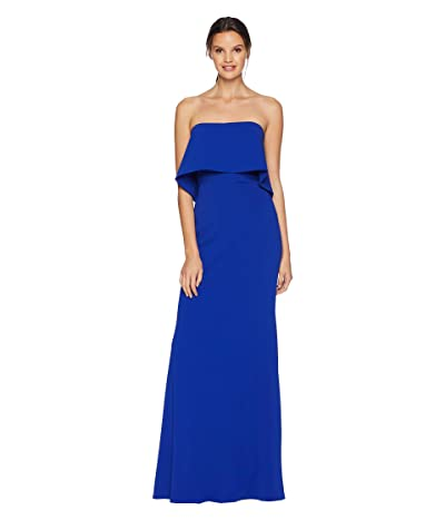 Badgley Mischka Popover Gown (Cobalt) Women