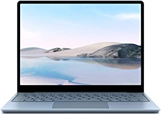 Microsoft Surface Laptop Go, 12,45 Zoll Laptop (Intel Core i5, 8GB RAM, 128GB SSD, Win 10 Home in S Mode) Eisblau