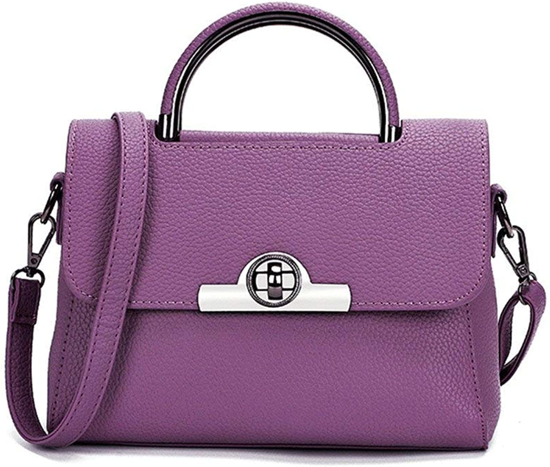 Mode Mode Mode Frauen Umhängetaschen Stilvolle Umhängetasche Handtasche für lässige Umhängetasche (Farbe   lila, Größe   26X20X13CM) B07NLVZY1S  Elegante Form 30e954