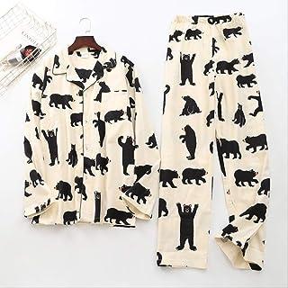 100% algodón Ciervos Pijamas Establece Ropa de Dormir Casual a Cuadros para Hombre Pijamas Masculinos Pijama Hombre Pijamas de Dibujos Animados para Hombre