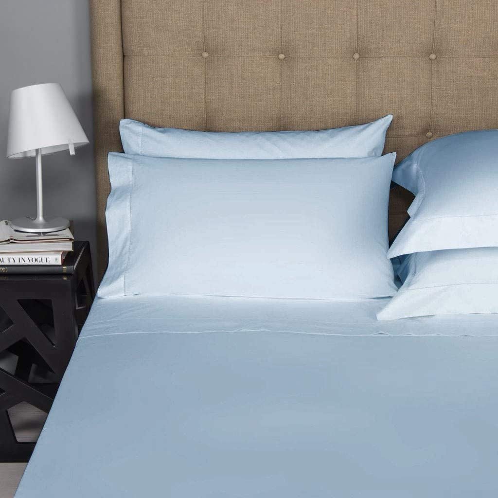 BlueClans 2 Piece Pillowcase Set 100/% Egyptian Cotton 1000 Thread Count Pillow Cases 20 x 40 Inch Pillow Insert Covers Cooling Ultra Soft Solid Luxury Hotel Bedding Collection King Size, Blush
