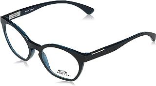 Oakley Women's OX8168 Tone Down Round Prescription Eyewear Frames, Polished Aurura/Demo Lens, 50mm
