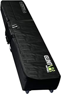 Demon United 2020 New Phantom Flight Snowboard Travel Bag- Double Snowboard Bag for Airport Travel- Snowboard Bag Fully Padded with XL Sized Wheels Ultra Durable for Airline Travel