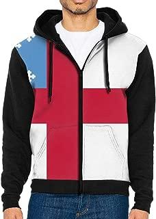 Field Rain Episcopal Flag Hoodies Men's 3D Printed Sweatshirt