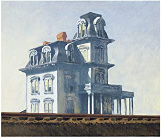Bruce McGaw Graphics House by the Railroad, 1925 by Edward Hopper, Art Print Poster 11