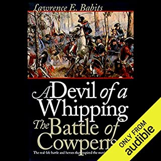 Devil of a Whipping audiobook cover art