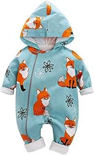 baby fox romper