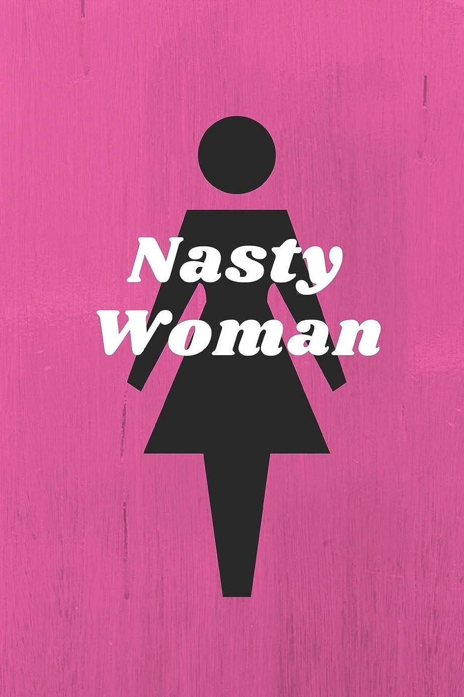 水銀の軽減純度Nasty Woman: An empowering notebook to gather your thoughts, speak your mind and to work for equality.