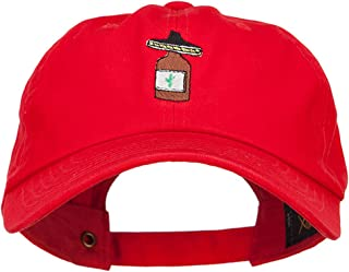 e4Hats.com Tequila with Sombrero Embroidered Unstructured Cap