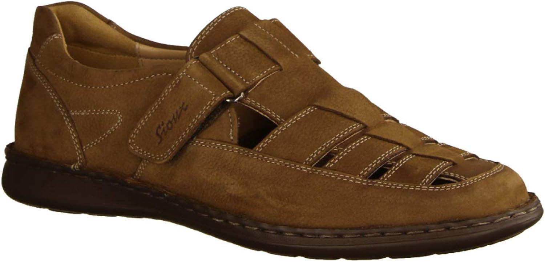 Sioux Men's Fashion Sandals Brown Size  8 UK