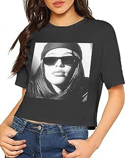 aaliyah crop top shirt
