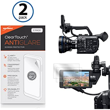 Lexerd Compatible with Sony DCR-DVD301 TrueVue Anti-Glare Digital Camcorder Screen Protector