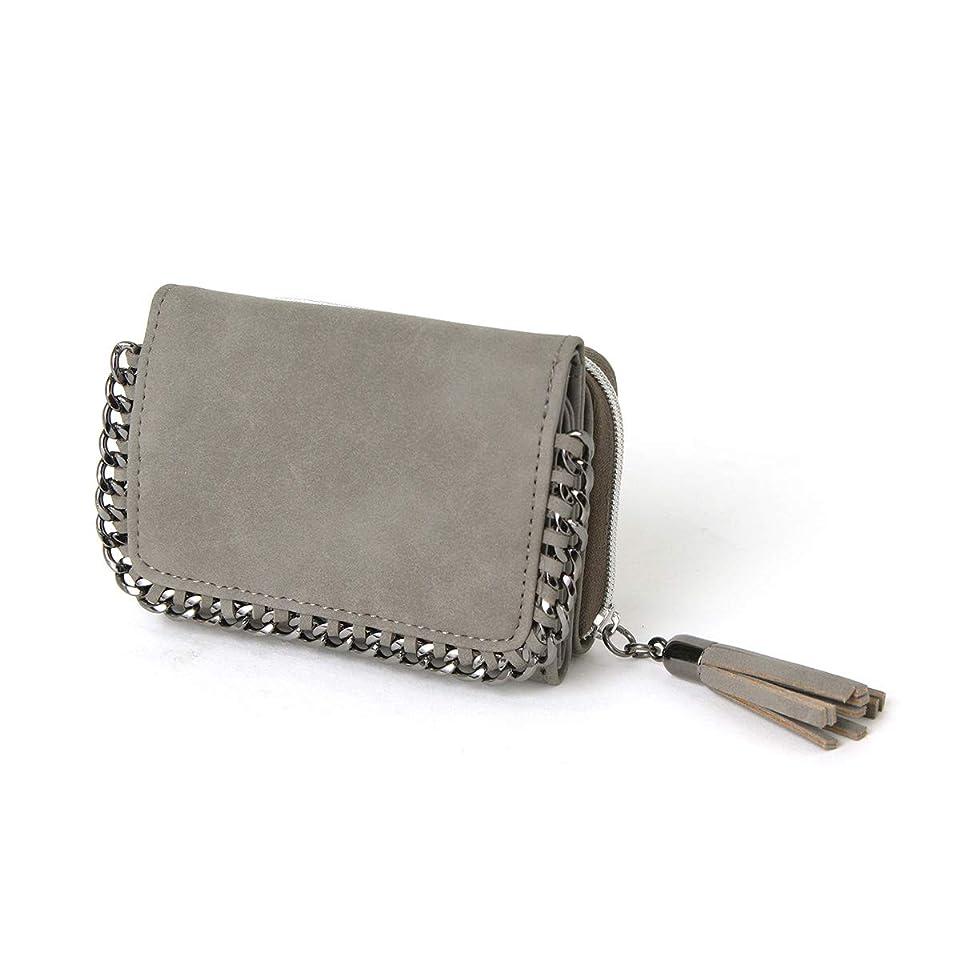 呼吸一緒気味の悪いJOKnet 三つ折り 財布 レディース おしゃれ コンパクト カード ミニ財布 コインケース ボックス型