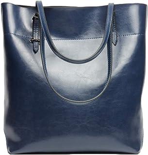 Women's Tote Bag Genuine Leather Handbags Classic Stylish Shoulder Bag Purses