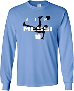 Long Sleeve Lionel Messi Argentina Air Messi T-Shirt